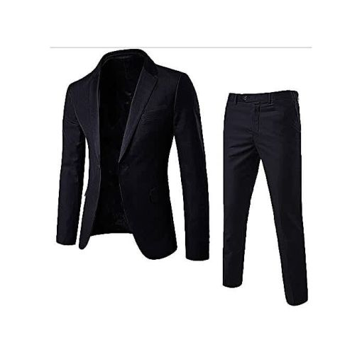 Onitshamarket - Buy Fashion Men's 2 Piece Black Suit