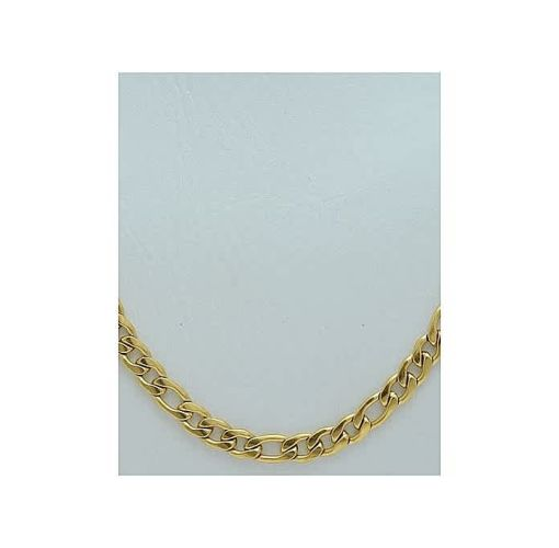 Onitshamarket - Buy Cuban Links, Smooth Gold Plated Chain Jewelry>Gold