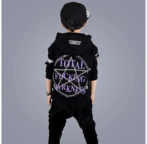 Onitshamarket - Buy New Autumn Boys And Girls Long-Sleeved Two-piece Suit