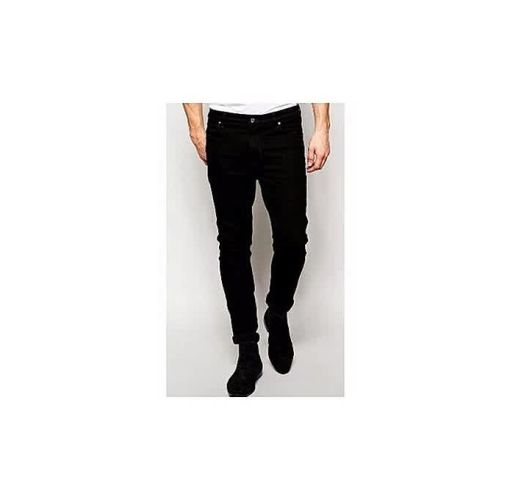 Onitshamarket - Buy Denim Charcoal Black Jean - Fashion