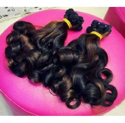 Onitshamarket - Buy Eurasian bouncy curls- 2 coloured combination