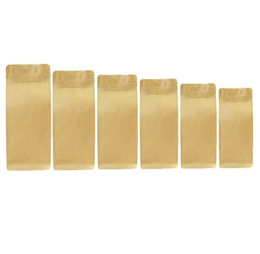 Onitshamarket - Buy Virtue Recycle Kraft Paper Storage Food Packaging 50pcs