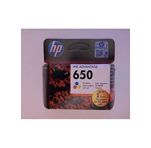 Onitshamarket - Buy HP 650 Ink Advantage Printer Cartridge Tri-color