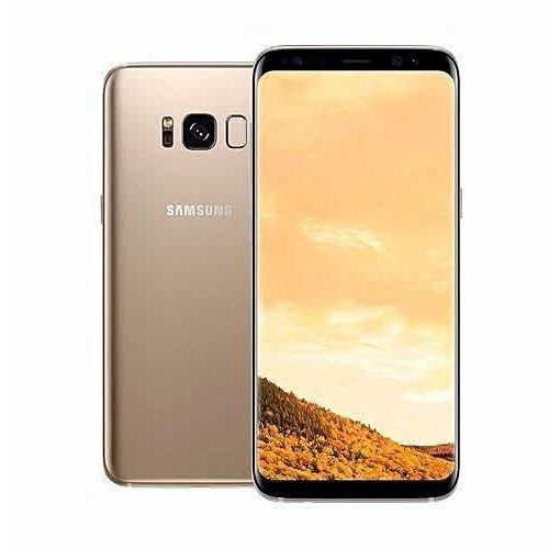 Onitshamarket - Buy Samsung Galaxy S8 5.8-Inch QHD (4GB,64GB RAM) Android 7.0 Nougat, 12MP + 8MP LTE Dual SIM Smartphone - Maple Gold