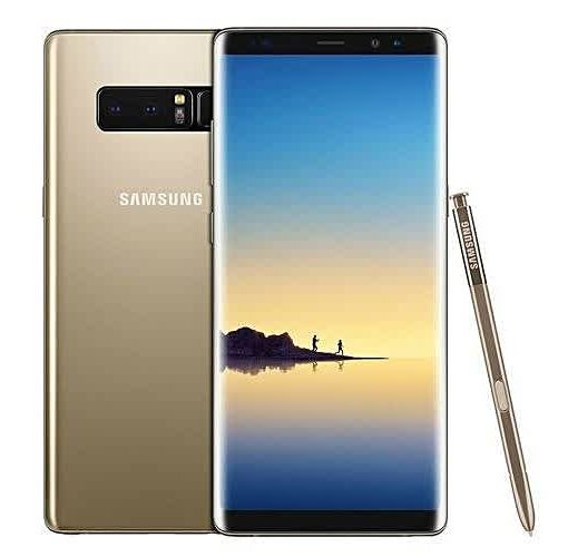 Onitshamarket - Buy Samsung Galaxy Note 8 6.3-Inch QHD (6GB,64GB ROM) Android 7.1 Nougat, (12MP + 12MP) + 8MP Dual SIM 4G LTE Smartphone - Maple Gold