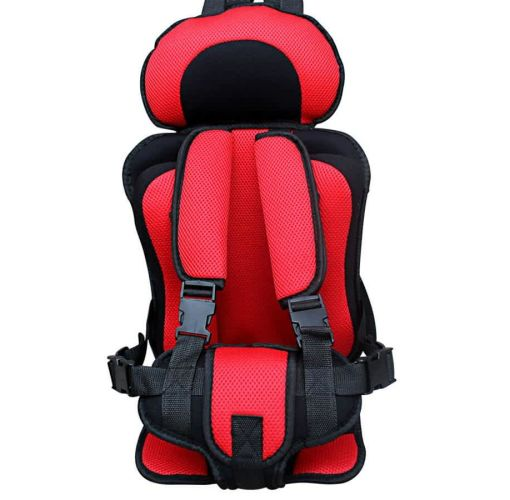 Onitshamarket - Buy Baby Safety Car Strap On Seat Belt - Red And Black