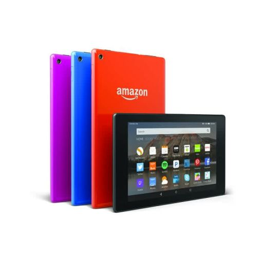 Onitshamarket - Buy Amazon Fire 7 With Alexa 8 Gb With Silicone Case - Purple