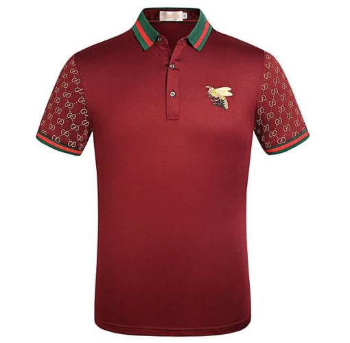 Onitshamarket - Buy Fashion 2019 New Short Sleeve T-shirt Men's Plain Cotton Embroidered Polo Shirt Clothing