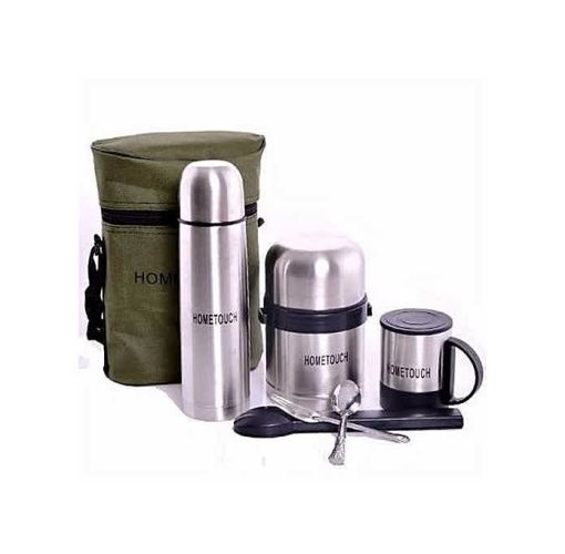Onitshamarket - Buy Home Touch 5 In 1 Children Lunch Pack-Food Flask, Water Flask, Mug N Cutlery