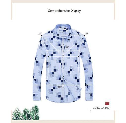Onitshamarket - Buy Men Casual Shirts Men Oxford Dress Shirt Youth Style-H880 Clothing