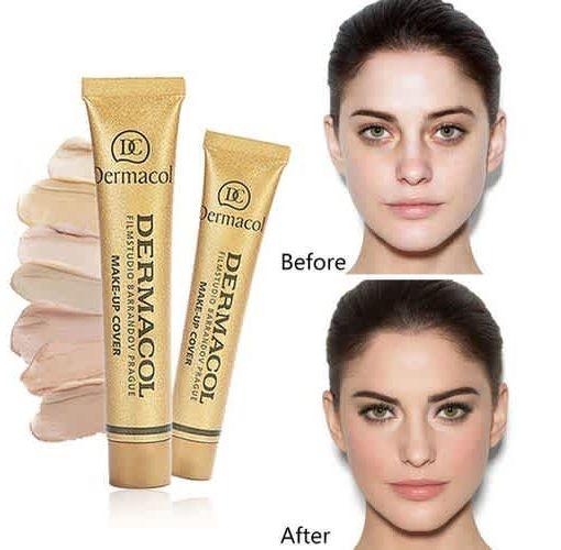 Onitshamarket - Buy Dermacol Foundation Makeup Hypoallergenic Waterproof SPF 30 Cream Concealer Skin Care