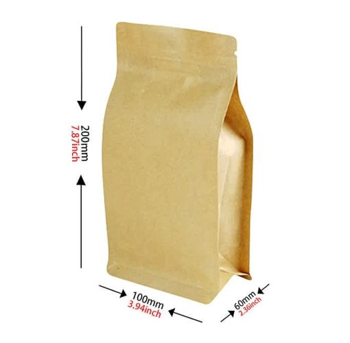 Onitshamarket - Buy Virtue Recycle Kraft Paper Storage Food Packaging 50pcs Disposables