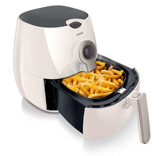 Onitshamarket - Buy Philips Viva Collection Air Fryer HD9225/51 Low fat fryer Multicooker White/silver, 800 g + Baking acc. with Rapid Air Technology