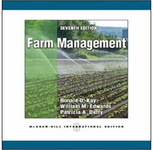 Onitshamarket - Buy Farm Management(7th Edition) by; Ronald D. Kay et al.