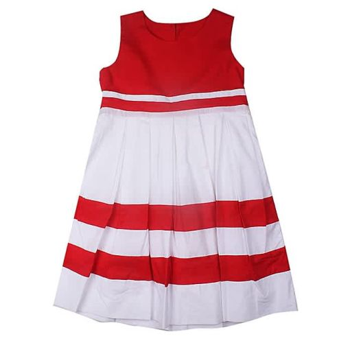 Onitshamarket - Buy Cotton Dress- Red