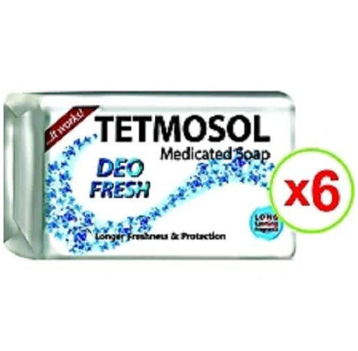 Onitshamarket - Buy Tetmosol Medicated Soap Deo Fresh - 70g X 6