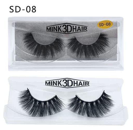 Onitshamarket - Buy Eyelashes 3D mink eyelashes long lasting mink lashes natural dramatic volume eyelashes extension