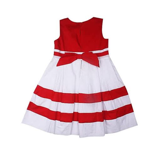 Onitshamarket - Buy Cotton Dress- Red Clothing