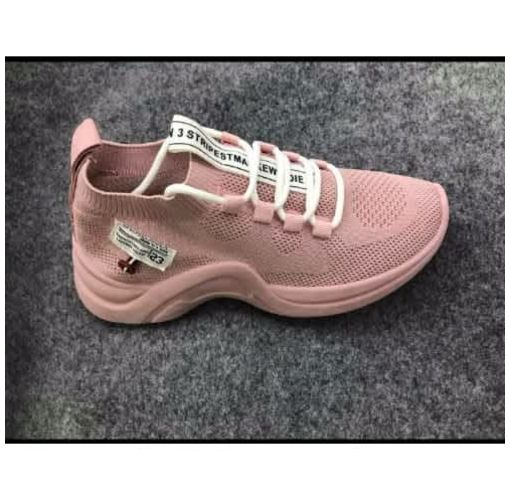 Onitshamarket - Buy Ladies Lace Up Sneakers - Pink