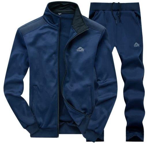 Onitshamarket - Buy Fashion Stylish Youth Sports Men's Embriodery Clothes Cardigan Suit