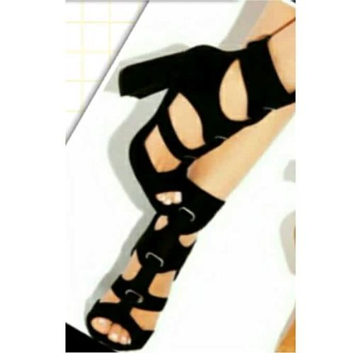 Onitshamarket - Buy Fashion Ankle Black Heel Sandal