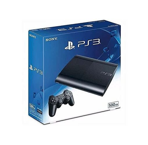 Onitshamarket - Buy Sony Sony PS3 Super Slim - 500GB + 17 Games Such As Fifa 19, Pes 19, Gta V, M.K With 2 Pad Controller