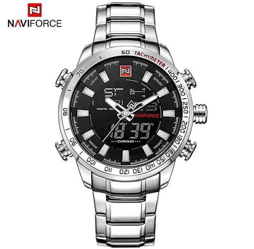 Onitshamarket - Buy Naviforce Men's Quartz Analog Waterproof Stainless Watches