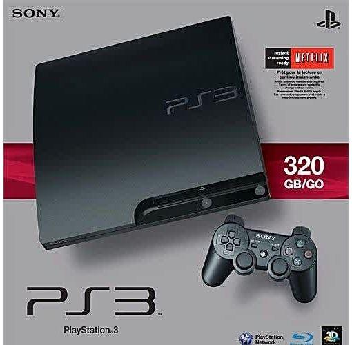 Onitshamarket - Buy Sony Computer Entertainment PlayStation 3 Slim 320 GB Console +15 Bonus Games{FIFA18+PES18+GOW ASCENTION}