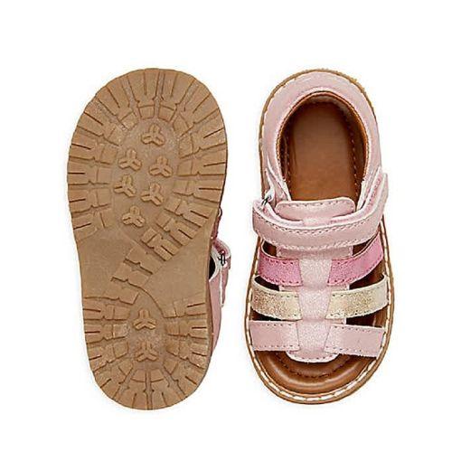 Onitshamarket - Buy Pink Glitter Open Toe Sandals Shoes