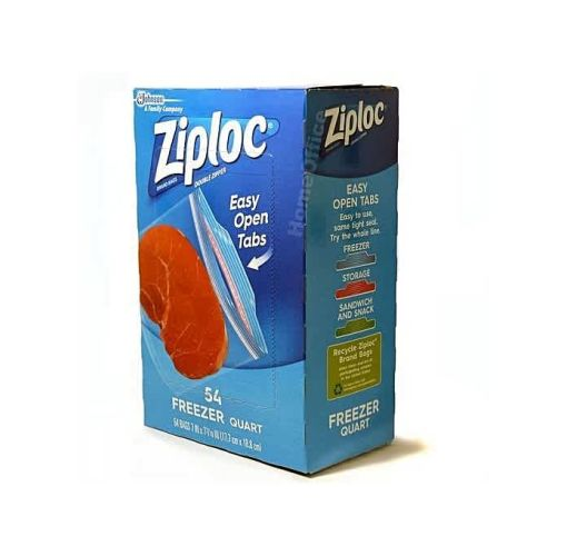 Onitshamarket - Buy Ziploc Freezer Quart -54 Count