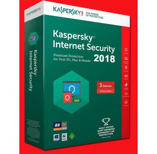 Onitshamarket - Buy Kaspersky Internet Security MD 2018 (1 User + 1 Year Free Licence)