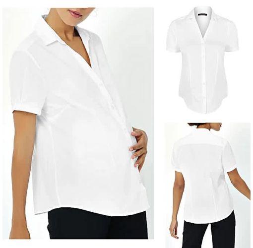 Onitshamarket - Buy 2 Pack Black And White Maternity Shirt Maternity