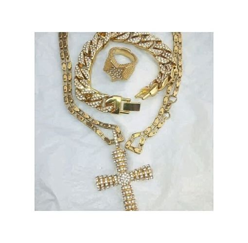 Onitshamarket - Buy Nice Neckless For Man With Bangle And Ring