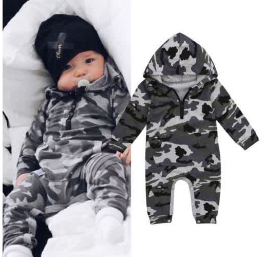 Onitshamarket - Buy Newborn Infant Baby Boy Girl Kids Cotton Romper Jumpsuit Bodysuit Clothes Outfit