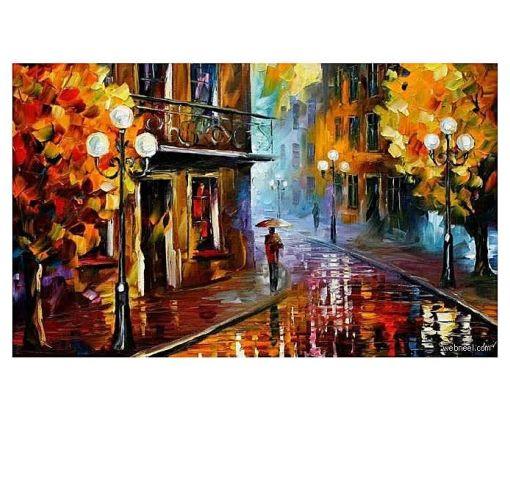 Onitshamarket - Buy Print Of Beautiful Art Work Painting _ Walk Way