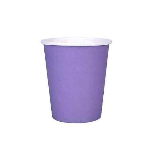 Onitshamarket - Buy Drinking Cup Disposable Paper Cup Solid Color 50pcs Paper 245ML Lightweight Party Tableware