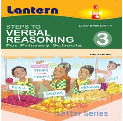 Onitshamarket - Buy Steps to Verbal Reasoning for Primary Schools 3 by Ore Olunloyo