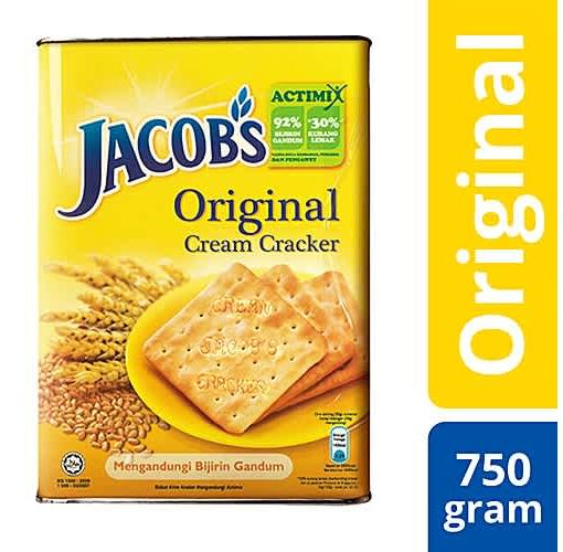 Onitshamarket - Buy Jacobs Cream Crackers Biscuits 750g Pack