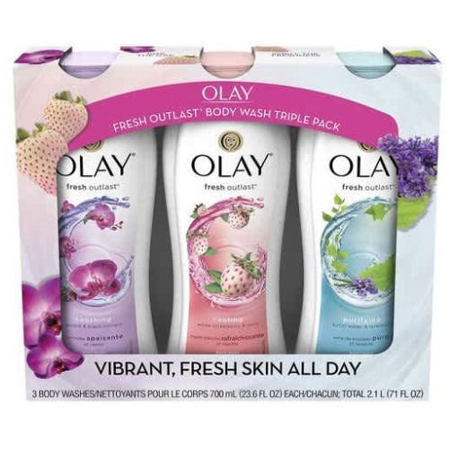 Onitshamarket - Buy Olay Fresh Outlast Body Wash (23.6 fl. oz., 3 pk.)