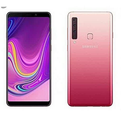Onitshamarket - Buy Samsung Galaxy A9 (2018) 6.3-Inch SAmoled (6GB, 128GB ROM),Android 8.0 Oreo, Quad Rear Cameras (24MP + 5MP + 10MP + 8MP) + 24MP ,4G LTE Dual SIM Smartphone - Bubblegum Pink