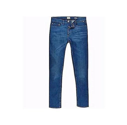 Onitshamarket - Buy Fashion Men's Quality Jeans Trousers Straight Leg Cut/Blue