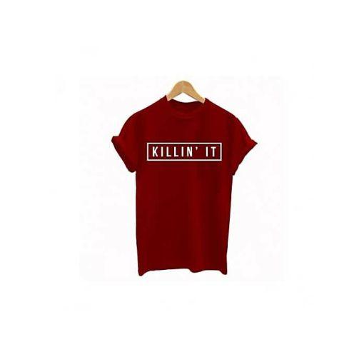 Onitshamarket - Buy Killin'it Print T-shirt