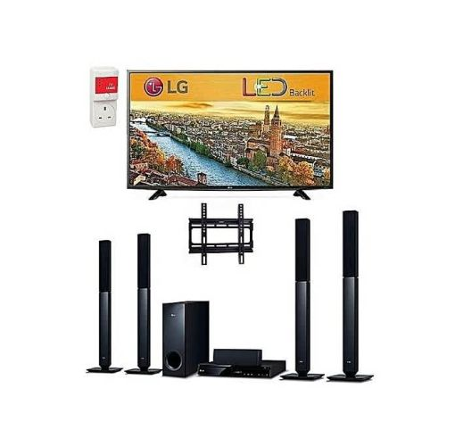 Onitshamarket - Buy LG 32-Inch LED TV - LK500, Bluetooth DVD Home Theatre With HDMI - LHD457B, And Free Wall Mount & Surge