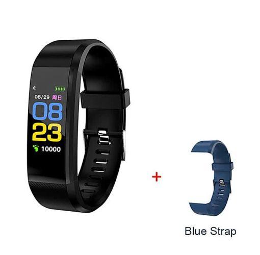 Onitshamarket - Buy Smart Wristband Sport Heart Rate Bracelet Sleep Monitor -Blue Men's Watches