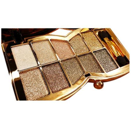 Onitshamarket - Buy Diamond Bright Colorful Makeup Eye Shadow Super Make Up Set Flash Glitter Eyeshadow Palette With Brush(5#) Makeup