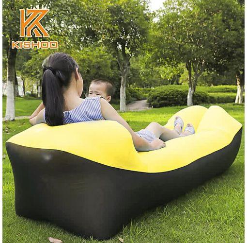 Onitshamarket - Buy 2019 Newest Design Camping Mat Lazy Bag Inflatable Sofa Lazy Sofa Beach Bed Air Sofa Lounger Bag Picnic Mat Pad Air Mattress Playground Equipment