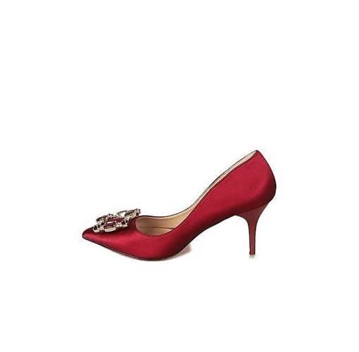 Onitshamarket - Buy Honey Beauty High Heeled Shoes - Red