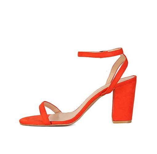 Onitshamarket - Buy Block heel sandals orange