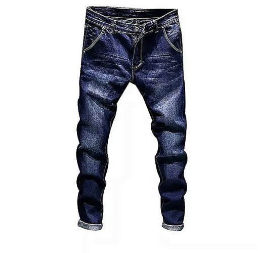 Onitshamarket - Buy Fashion 2019 Hiphop Blue Denim Jeans