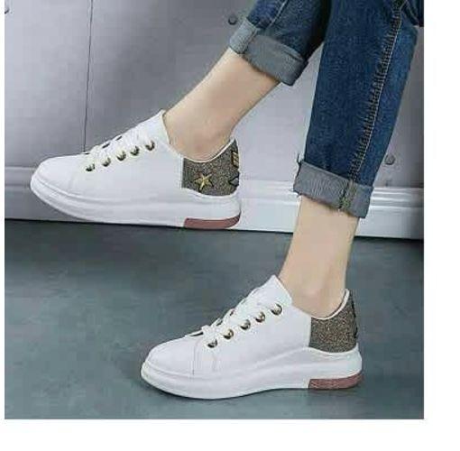 Onitshamarket - Buy Female Star Sneaker - White